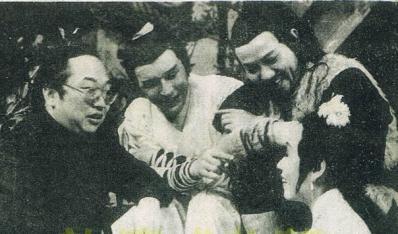 古龙1974年元月至英雄榜剧组探班照